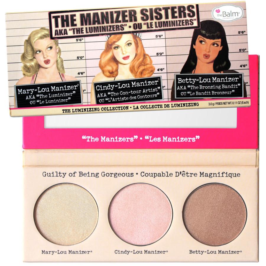 Zestaw do makijażu The Balm The Manizer Sisters