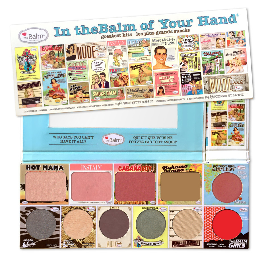 Zestaw do makijażu  In The Balm of Your Hand The Balm